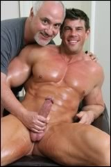 zeb atlas massaged by jake cruise
